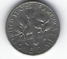 ETATS UNIS ONE DIME 1966 - Émissions Fédérales