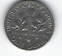 ETATS UNIS ONE DIME 1970 - Émissions Fédérales