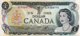 CANADA 1 DOLLAR 1973  P-85 AUNC - Canada