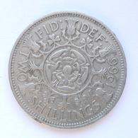2 Shillings Münze Aus Großbritannien Von 1966 (sehr Schön) - Sonstige