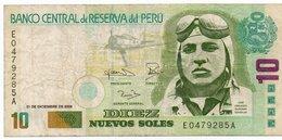PERU 10 NUEVOS SOLES 2006 P-179 VF - Perù