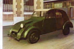 Citroen 2CV - Prototype Unique Au Monde  -  1937     -  CPM - Voitures De Tourisme