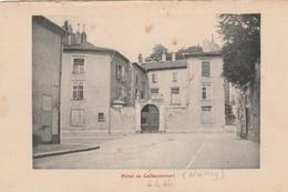 (Nancy) Hôtel De Gellenoncourt. - Nancy
