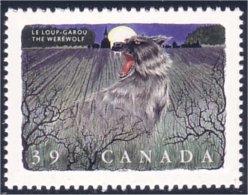 Canada Folklore Werewolf Loup-garou MNH ** Neuf SC (C12-91b) - Fairy Tales, Popular Stories & Legends