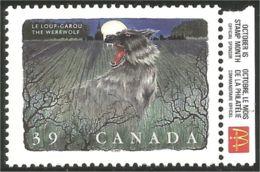 Canada Folklore Werewolf Loup-garou Publicité Mac Donald Advertizing MNH ** Neuf SC (C12-91mcdo) - Unused Stamps