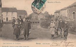 GORCY : Coin De Pays. (TTB Plan D'enfants Du Village.) - Altri Comuni
