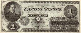 STATI UNITI D AMERICA 1 DOLLAR 1862 P-128 FACSIMILE-COPY - Large Size (...-1928)