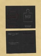 Carte Parfumée Perfume Card LA NUIT DE L'HOMME / BLACK OPIUM * YVES SAINT LAURENT YSL * R/V - Modern (from 1961)