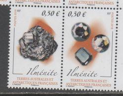 TAAF, FRENCH ANTARCTIC, 2018, MNH, MINERALS, 2v - Minerals