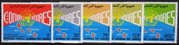 COMORES                   N° 426/430                       NEUF** - Comores (1975-...)