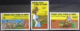 COMORES                   N° 447/449                       NEUF** - Comores (1975-...)