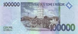 SAO TOME E PRINCIPE P. 69b 100000 D 2010 UNC - Sao Tomé Et Principe