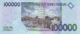 SAO TOME E PRINCIPE P. 69c 100000 D 2013 UNC - San Tomé E Principe