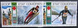 COMORES                   PA 101/102                       NEUF** - Comores (1975-...)