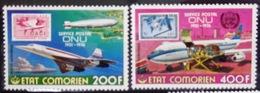COMORES                   PA 110/111                       NEUF** - Comores (1975-...)