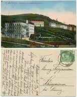 AK Sankt Joachimsthal Jachymov 1916, Radium Kurhaus, Sudetenland, Nach Aussig - Sudeten