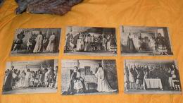 LOT DE 6 CARTES POSTALES ANCIENNES NON CIRCULEES DATE ?../ LA FILLE DE ROLAND...A CHARLEMAGNE... - Teatro