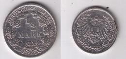 Münze 1/2 Mark Silber 1905 F - [ 2] 1871-1918 : Empire Allemand