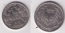 Münze 1/2 Mark Silber 1905 D - [ 2] 1871-1918 : Empire Allemand