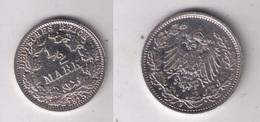 Münze 1/2 Mark Silber 1915 F - [ 2] 1871-1918 : Empire Allemand