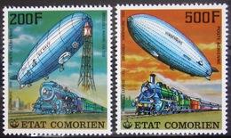 COMORES                   PA 121/122                       NEUF** - Comores (1975-...)