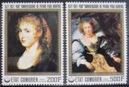 COMORES                   PA 123/124                       NEUF** - Comores (1975-...)