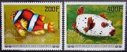 COMORES                   PA 128/129                       NEUF** - Comores (1975-...)