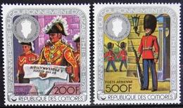 COMORES                   PA 141/142                       NEUF** - Comores (1975-...)