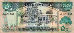 SOMALILAND 500 SHILLINGS 2008 P-6 - Somalië