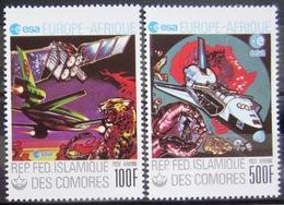 COMORES                   PA 157/158                       NEUF** - Comores (1975-...)