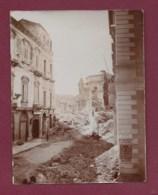270719C - PHOTO ANCIENNE ITALIE MESSINA MESSINE Ruines église Des âmes Du Purgatoire - Tremblement De Terre De 1908 ? - Messina