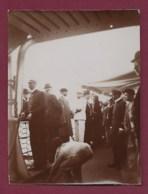 270719D - PHOTO ANCIENNE à Bord D'un Bateau - Voyage En Turquie - Segelboote