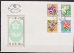 Jugoslawien 1979 FDC Nr.1789 - 1792 Alpenblumen ( D 5791) Günstige Versandkosten - FDC