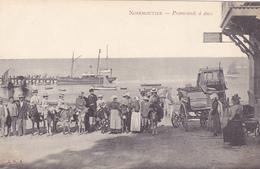 CPA 85 @ NOIRMOUTIER - Promenade à ANES Vers 1900 @ Couillon éditeur - Noirmoutier