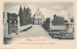 MASER-TREVISO-VILLA GIACOMELLI-CARTOLINA NON VIAGGIATA ANNO 1900-1904 - Treviso