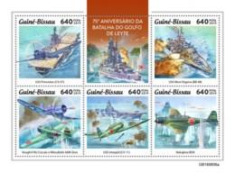 Z08 GB190606a GUINEA BISSAU 2019 Battle Of Leyte Gulf MNH ** Postfrisch - Guinea-Bissau