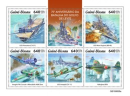 Z08 GB190606a GUINEA BISSAU 2019 Battle Of Leyte Gulf MNH ** Postfrisch - Guinée-Bissau