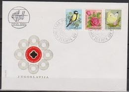 Jugoslawien 1974 FDC Nr.1559 - 1561 Tag Der Jugend ( D 5794) Günstige Versandkosten - FDC