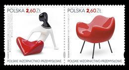 Poland 2018 Mih. 5060/61 Polish Industrial Design MNH ** - 1944-.... República