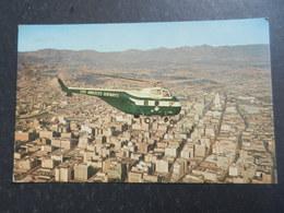 19963) LOS ANGELES AIRWAY'S PASSENGER HELICOPTER VIAGGIATA - Elicotteri