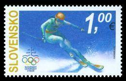 Slovakia 2018 Mih. 836 Olympic Winter Games In Pyeongchang. Alpine Skiing MNH ** - Slovakia