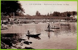 CPA 06 CAP D' ANTIBES - Etablissement De La Garoupe - La Plage ° Keller - Antibes