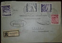 O) 1947 AUSTRIA, RAILROAD-VIADUCT NEAR SEMMERING, MARIAZELL STYRIA, LEOPOLDSBERG, PAYSAGES-LANDSCAPE -PAESAGGI -LANDSCHA - 1945-.... 2nd Republic