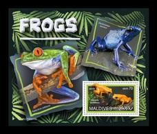 Maldives 2019 Mih. 8407 (Bl.1347) Frogs MNH ** - Maldives (1965-...)