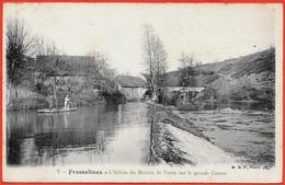 CPA 23 FRESSELINES Creuse - L'Ecluse Du MOULIN De VEROY Sur La Grande Creuse ° BF - France