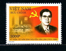 Viet Nam Vietnam MNH Perf Stamp 2015 : 100th Birth Anniversary Of Nguyen Van Linh (Ms1056) - Vietnam