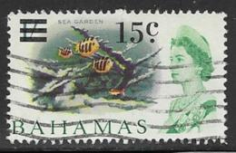 Bahamas Scott # 239 Used Sea Garden, Surcharged,1966 - Bahamas (...-1973)