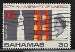 Bahamas Scott # 249 Used UNESCO,1966 - Bahamas (...-1973)