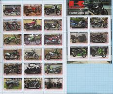 Fantazy Labels / Private Issue. Motorcycles KAWASAKI. 2019. - Fantasy Labels