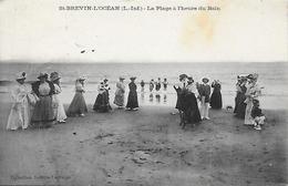 44)   SAINT BREVIN  L'  OCEAN - La Plage à L' Heure Du Bain - Saint-Brevin-l'Océan